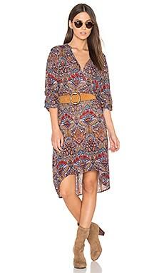 Batik Shirt Dress in Multi