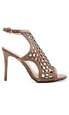 Brenna Heel in Taupe