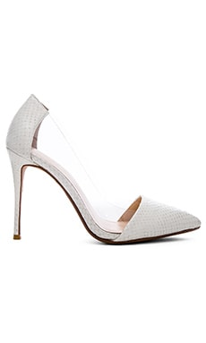 Terry Pump in White