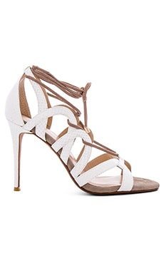 Bella Heel in White