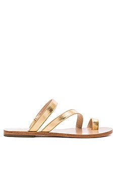 Sisley Sandal in Gold Metallic