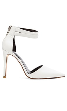 Candace Heel in White