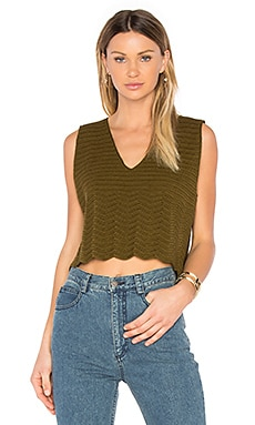 Hewson Top in Olive
