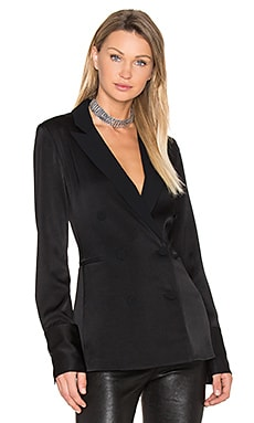 Adler Blazer Top in Black