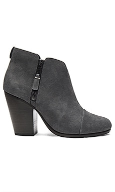 Margot Bootie in Charcoal Nubuck