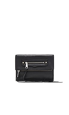 Small Regan Clutch in Black