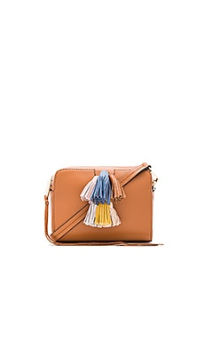 Mini Sofia Crossbody Bag in Almond Multi