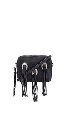 Western Crossbody Bag in Black