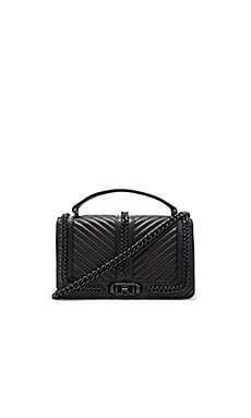 Love Crossbody Bag in Black