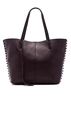 Medium Unlined Tote Bag in Dark Cherry