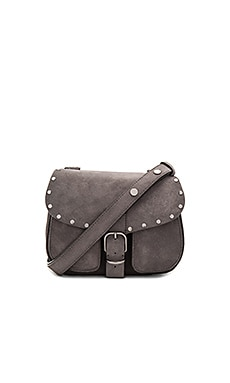 Biker Saddle Bag in New Grey