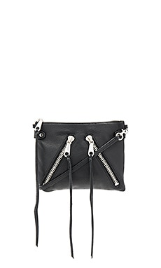 Moto Jon Crossbody in Black