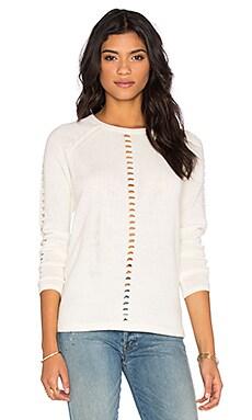 Claton Sweater in Vintage White