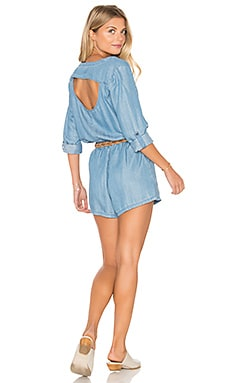 Mobile Romper in Chambray