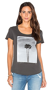 Twin Palms Tee in Black