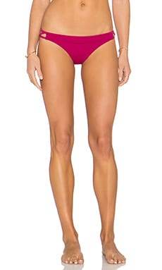 Painted Medium Bikini Bottom in Rosewater
