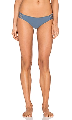 Troipc Doom Cheeky Bikini Bottom in Mosaic Blue