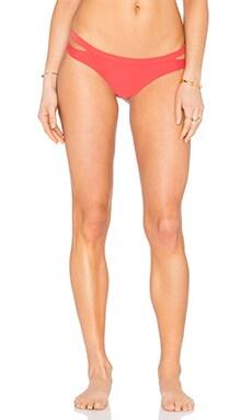 Seaward Cheeky Bikini Bottom in Spiced Coral