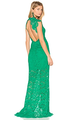 Estelle Maxi Dress in Emerald