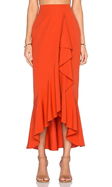 Gisele Maxi Skirt in Spice