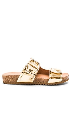 Philly Sandal in Gold