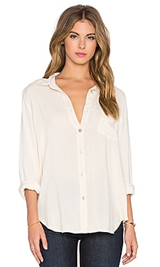 Gent Button Up in Cream