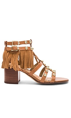 Shaelynn Sandal in Saddle