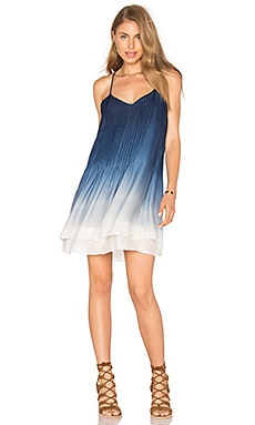 Spring Fling Dress in Japanese Blue Ombre