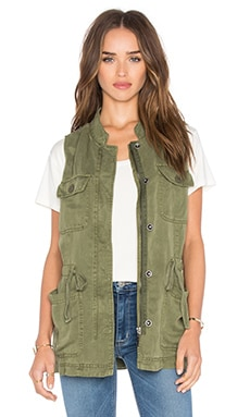 Canyon Military Vest in Cactus