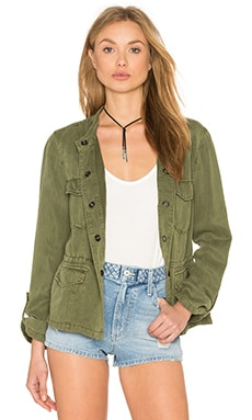 Hillside Safari Jacket in Cactus