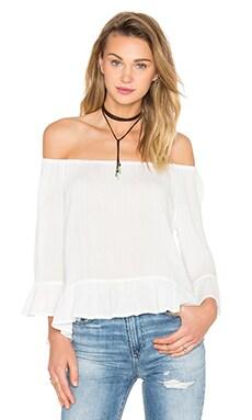 Julia Off Shoulder Top in White