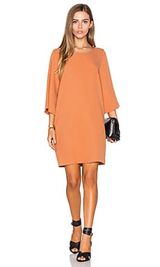 Atal Dress in Pumpkin Tennis
