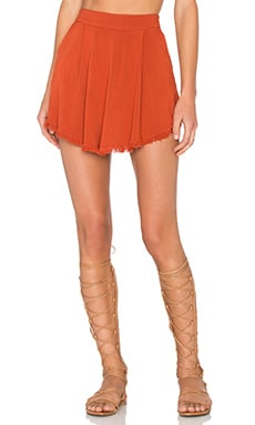 Janis Skirt in Brick Mojave