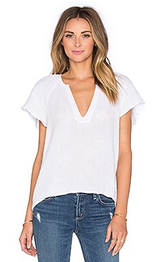 Avery Top in White