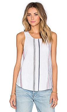 Evie Top in Cruise Stripe