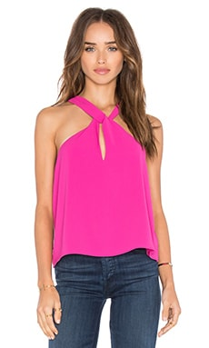 x REVOLVE Idella Top in Berry