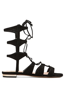 Erlina Sandal in Black