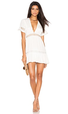 Verona Dress in White