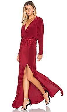 x REVOLVE Alabama Gown in Red