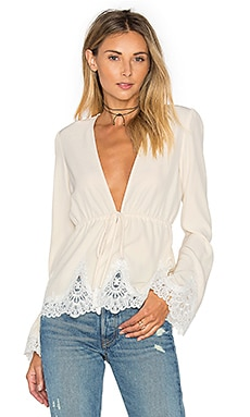 Pearl Blouse in Ivory
