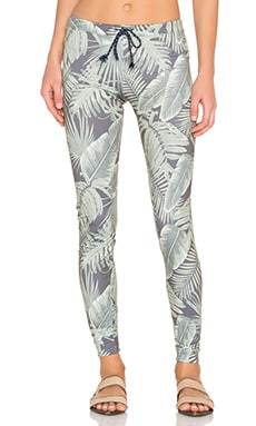 Palms Skinny Sweatpant in Green