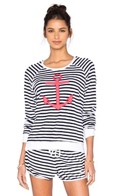 Anchor Sweatshirt in White