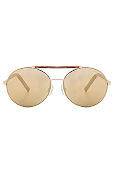 Tijuana Sunglasses in Gold & Dark Tort