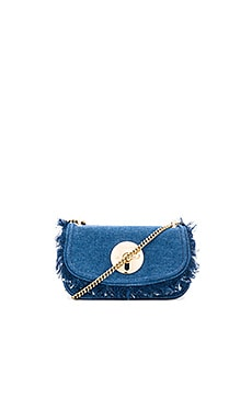 Lois Clutch in Denim