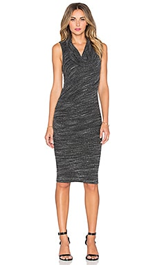 Bristol Dress in Asphalt