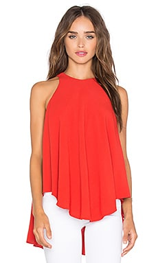 Tova Top in Red