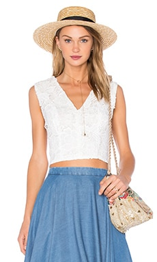 Cecily Top in White