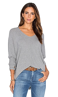Grace Top in Heather Grey