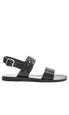 Revolutionary Sandal in Black