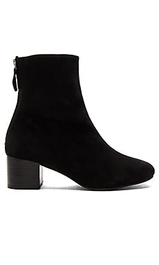 Imaginary Booties in Black Suede